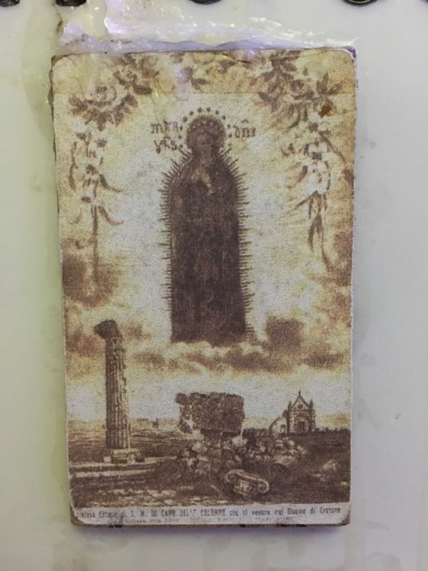 Our Lady of Capocolonna venerated in Crotone