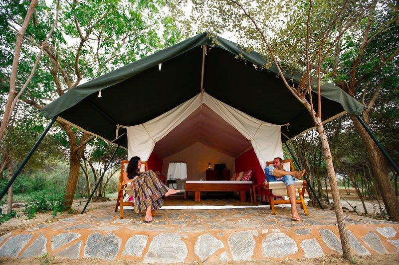 The Naturalist Safari Camping Yala, alquiler vacacional en Yala National Park