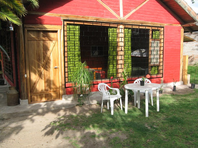 Arie´s Cabin (Big Garden Room), vacation rental in Cayambe
