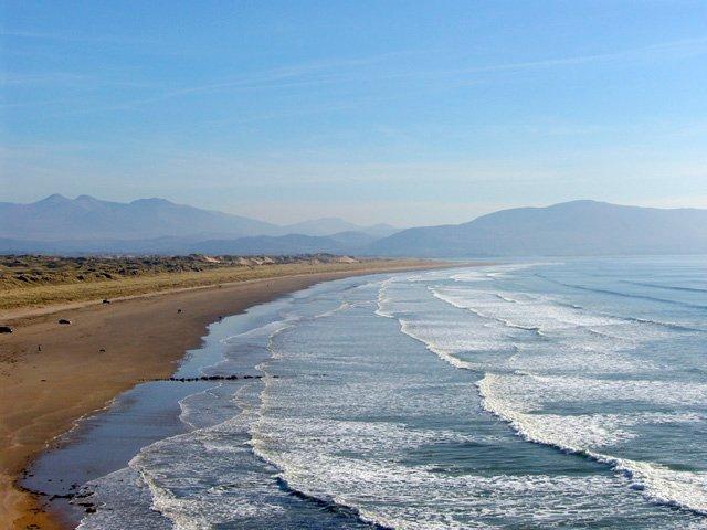 Playa de pulgadas, península de Dingle, Co. Kerry