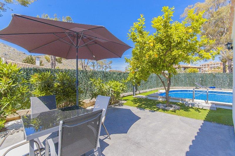 Villa Casa Blanca, alquiler de vacaciones en Port d'Alcudia