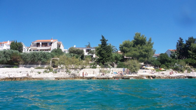 House by the sea, holiday rental in Seget Vranjica