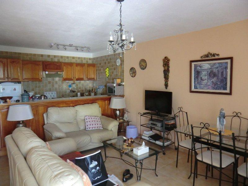 garden apartment Tamay  DII 1-6 in the sun near to the sea, holiday rental in Acantilado de los Gigantes