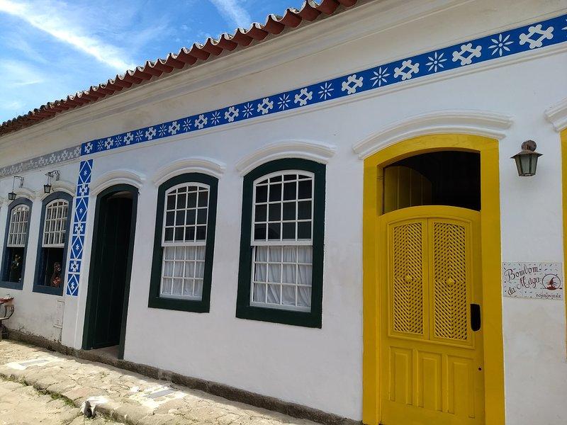 Casa da Matriz Centro Histórico, alquiler de vacaciones en Parati