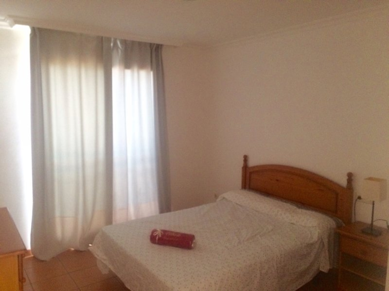 Red mountain paradise apartment with beautiful sunrises and sunsets, holiday rental in La Tejita