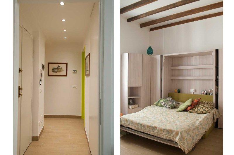 Hall e Bedroom