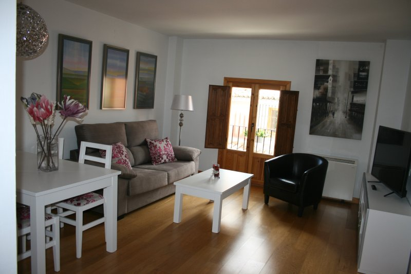 Apt FLAMANTE familiar en Casco Antiguo, holiday rental in Arcas del Villar
