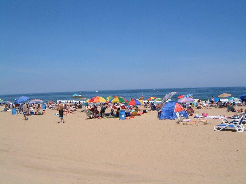 Nuestra hermosa playa del parque de Asbury