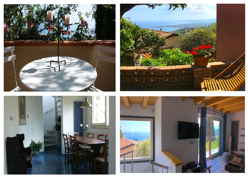 MARGOT'S HOUSE Etna + Meerblick Taormina