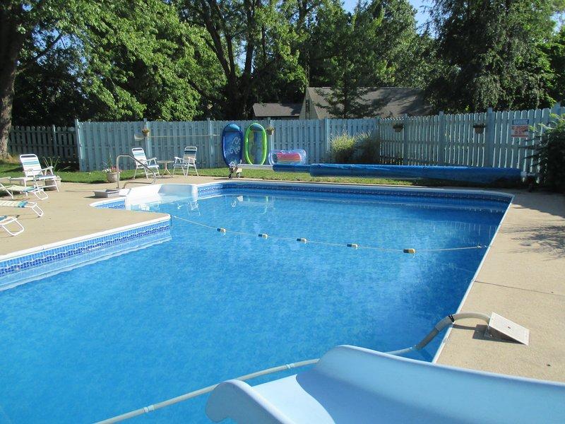 85 Grad, schwimmen oder einfach nur entspannen