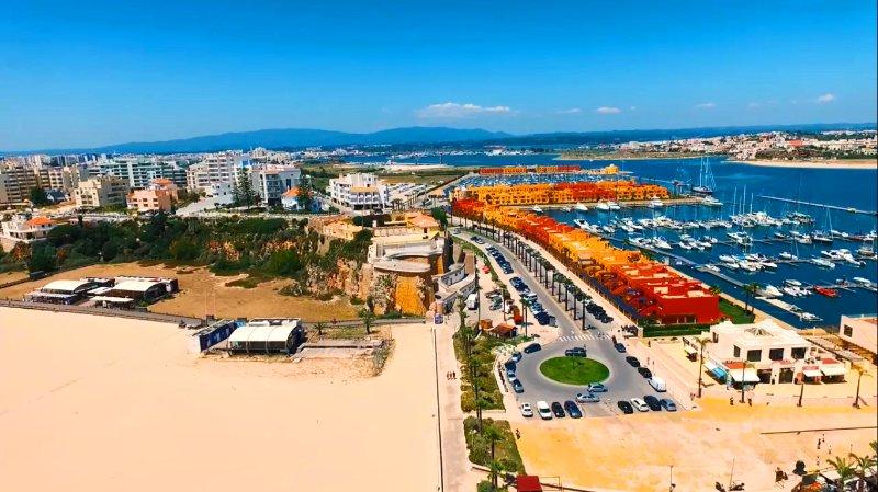 Praia da Rocha et Marina de Portimão