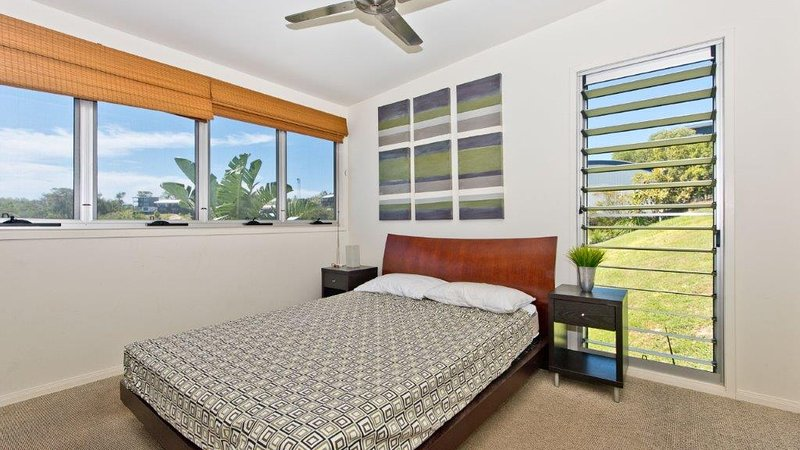 Upper Level - Queen Bedroom 2 with Ocean Views