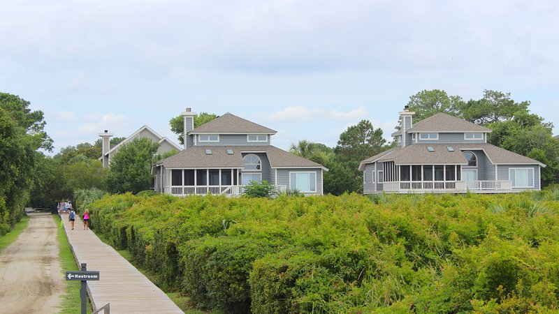 This home is in the perfect location for a beach vacation.
