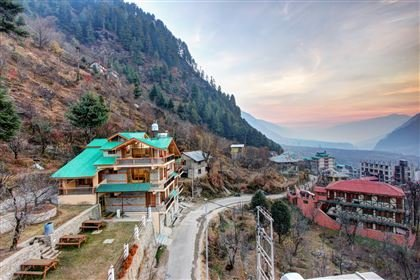 Taprooms is a beautiful cottage set in a private and tucked away location  in Manali, Himachal