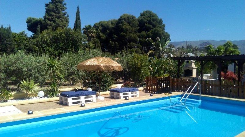 Estupenda casa de vacaciones en Pechina (Almería) – semesterbostad i El Toyo