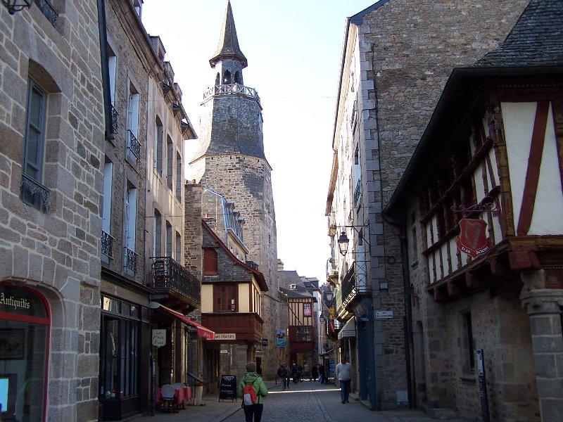 Rue de Dinan em Dinan, a 10 minutos da casa