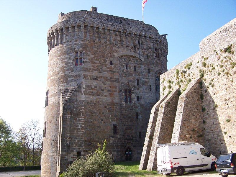 Château de la Duchesse Anne em Dinan, 10 minutos de casa