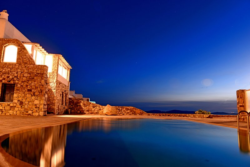 Villa and Guest House Private Pool and Ocean View, location de vacances à Agios Ioannis