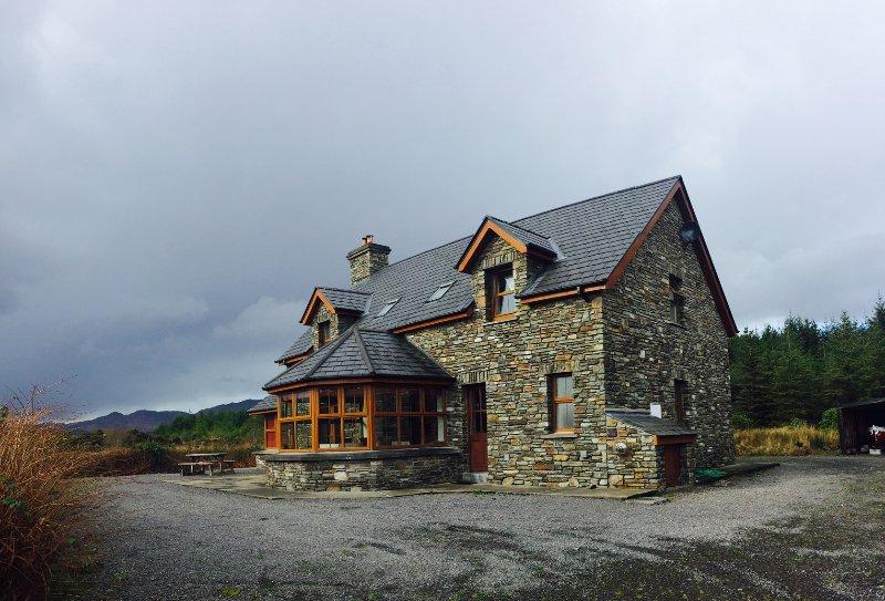 pedra impressionante construiu casa de campo destacada