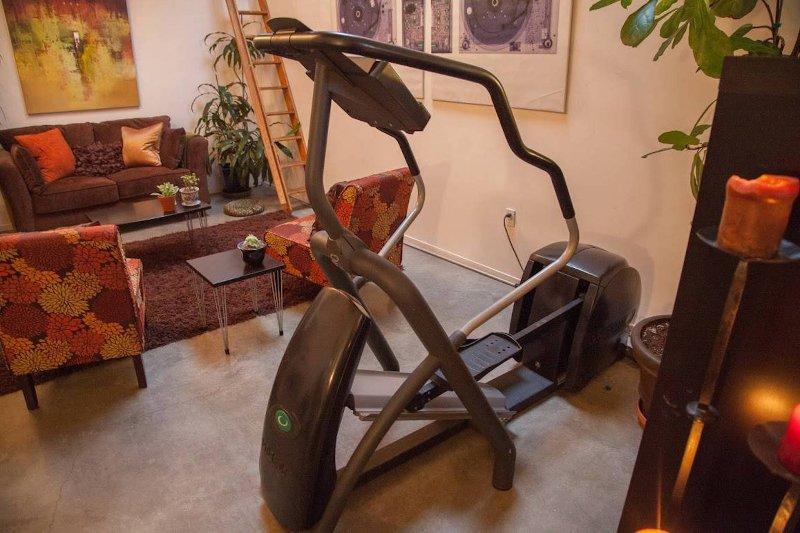 Studio-Qualität Precor elliptische Maschine.
