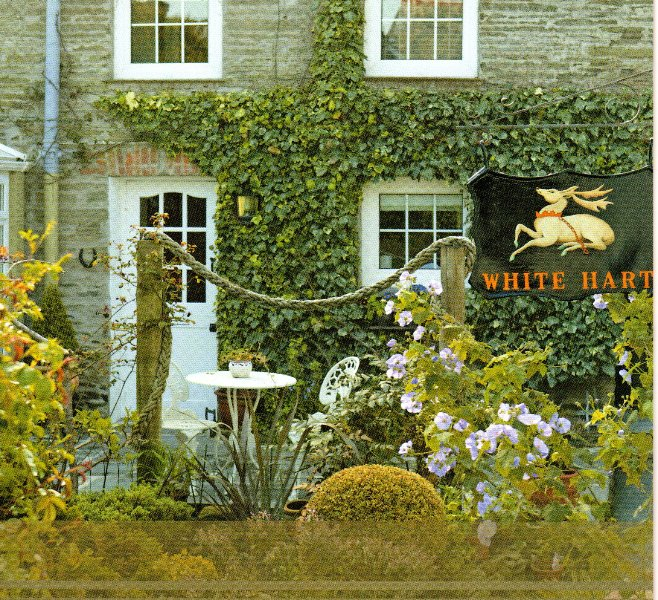 The White Hart Garden Suite Entrance