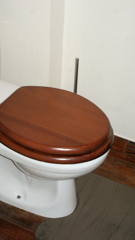 En la planta baja / WC compartido