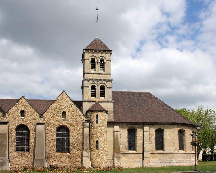 La iglesia de Deuil-la-Barre (en mi calle)