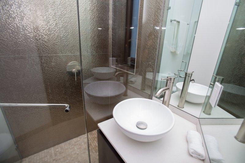 Salle de bain de style moderne
