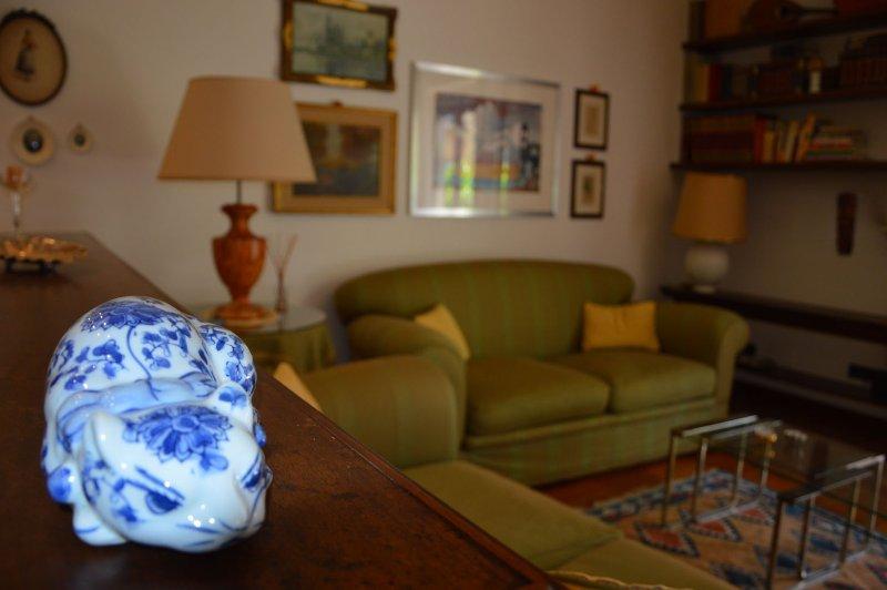 Detalhes: sala de estar