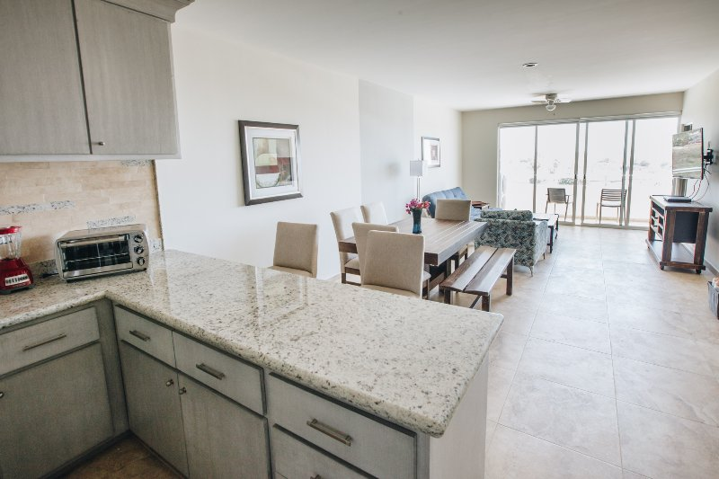 Granite mesa na cozinha