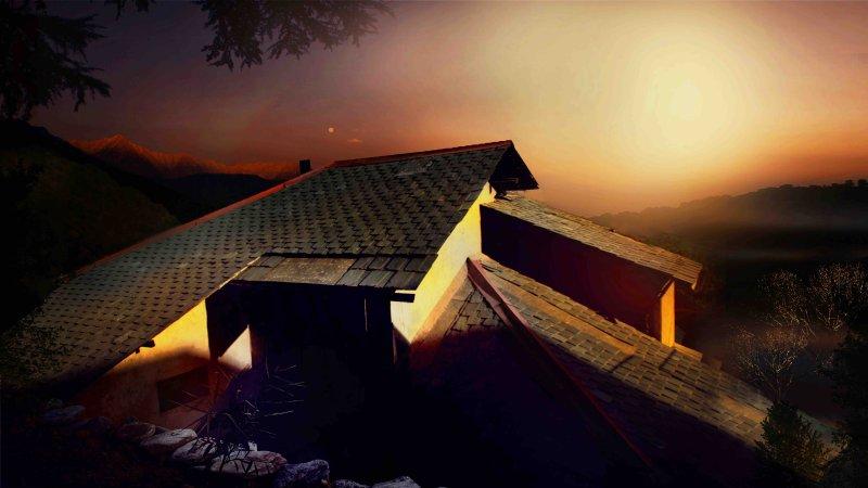 Forktail Villa - The Organic Homestay in Dharamshala, alquiler de vacaciones en Kangra District