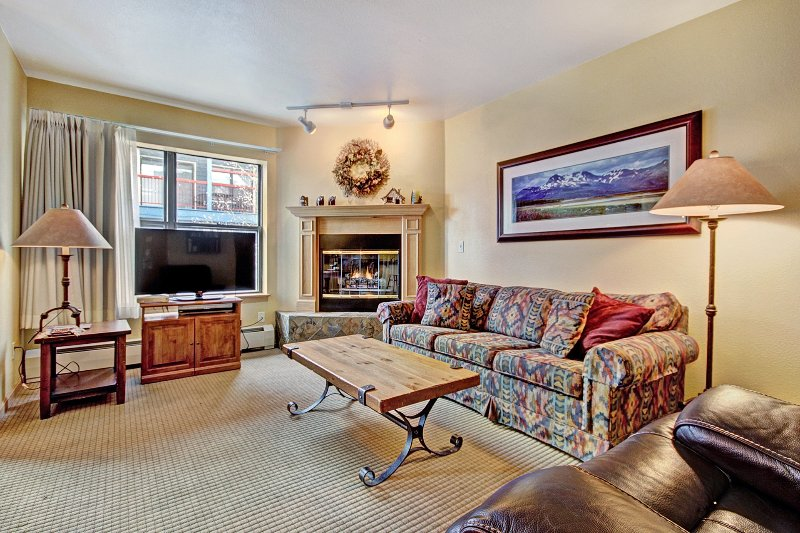 Charming 2Br Steps to Snow-capped Adventures + Main St, vacation rental in Breckenridge