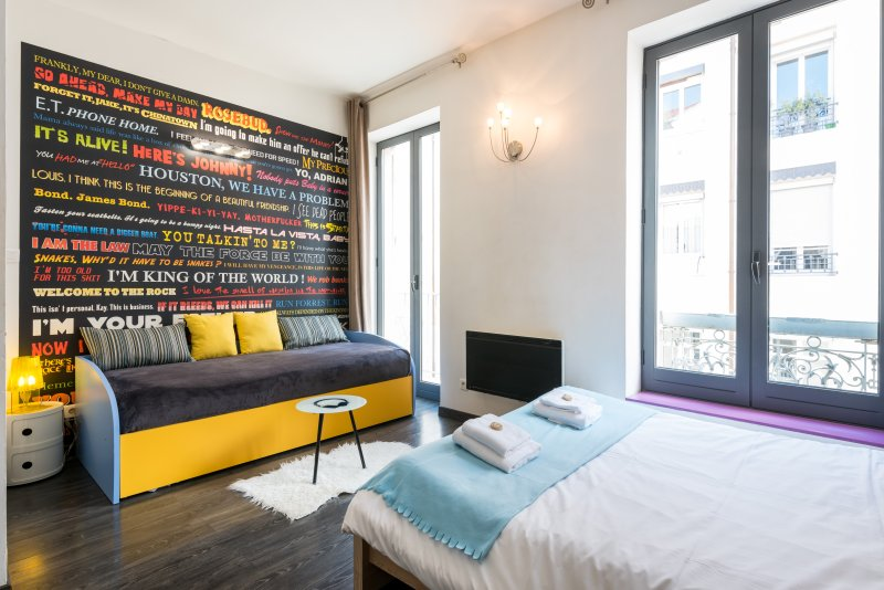 'L'ENDROIT' - Studio centre ville Saxe Gambetta, holiday rental in Venissieux