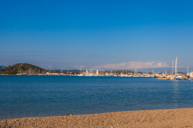 Uitzicht op zee villa met zwembad, Murter