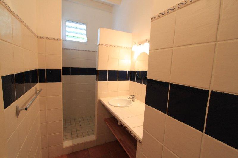 Banheiro piso 2 do solo - no chuveiro e secador de cabelo