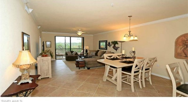 Family room and dining