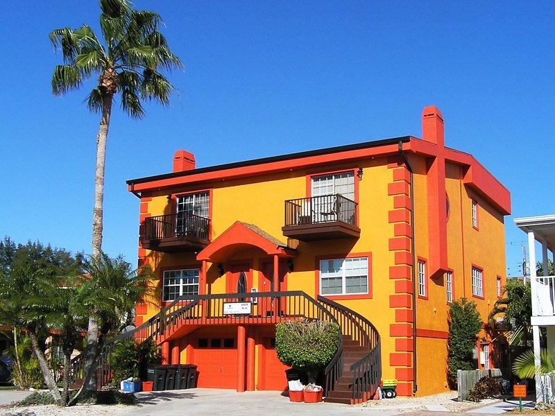 Seaside Villas Townhouse - situé dans Siesta Key Village à quelques pas de Crescent Beach sur Siesta Key