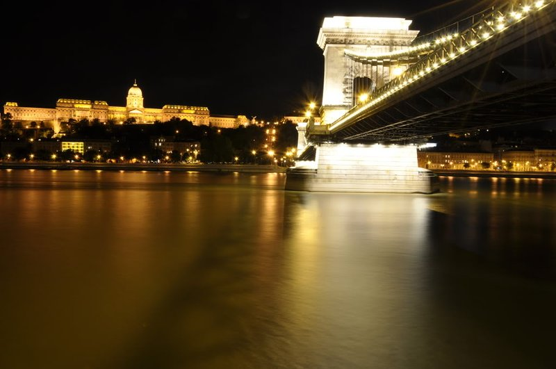 Szechenyi Chain Bridge- just around the corner