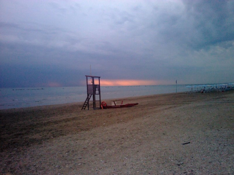 sun rise in Marotta
