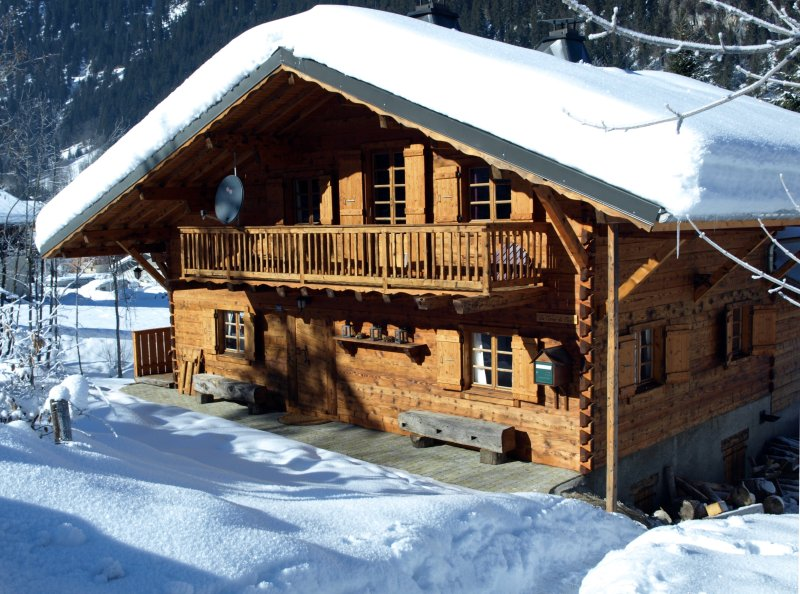 Chalet Gallois im Winter