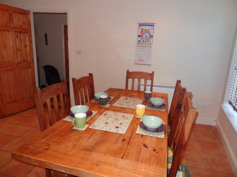 mesa de comedor para 6 personas