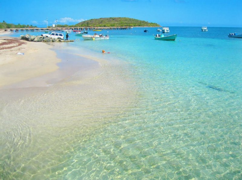spiaggia di Esperanza, a soli 5 minuti di macchina