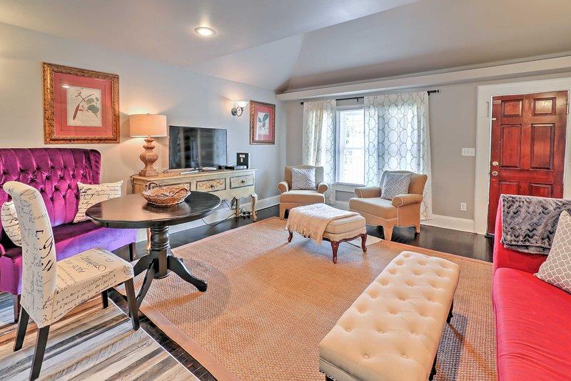 Treten Sie ein in Ihr Ferienhaus in Sanford!