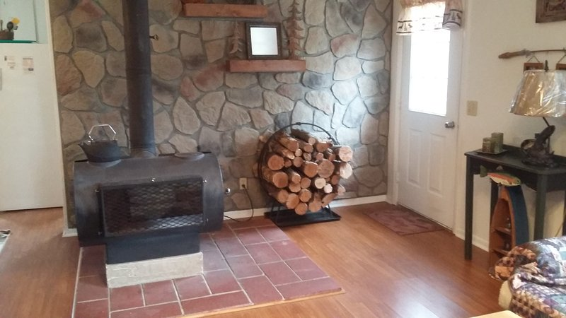 Cozy Cabin Near The AuSable River, holiday rental in Curran