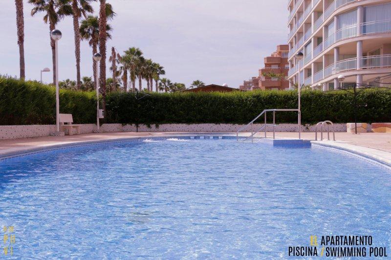 Apartamento primera línea playa, holiday rental in Oropesa Del Mar