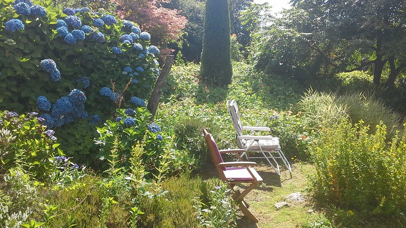 Unwind in the cottage gardens  on the property.