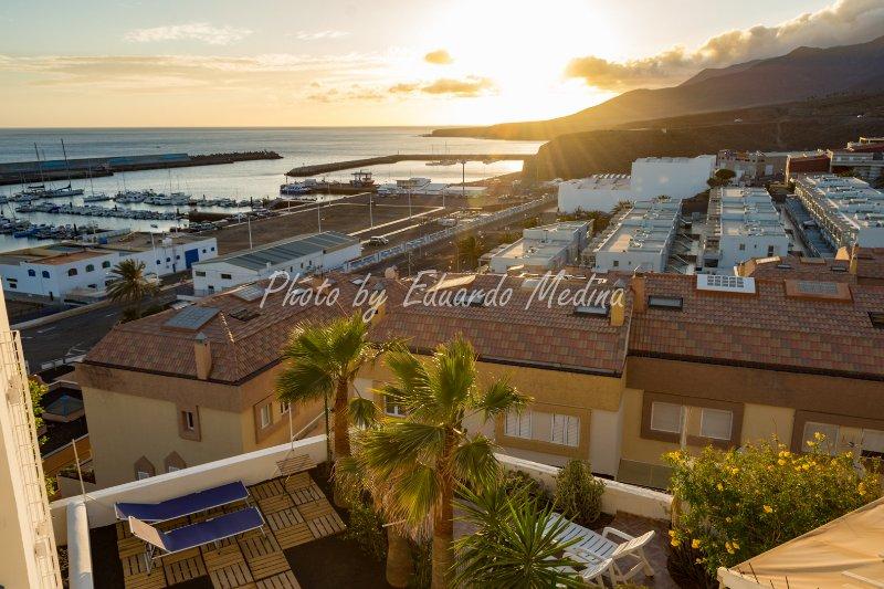 Vistas desde el balcon / Vistas desde el balcón vom / Blick Balkon