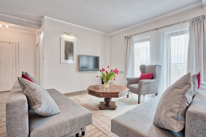 Modern&Sunny Family Apartment, casa vacanza a Wegrzce