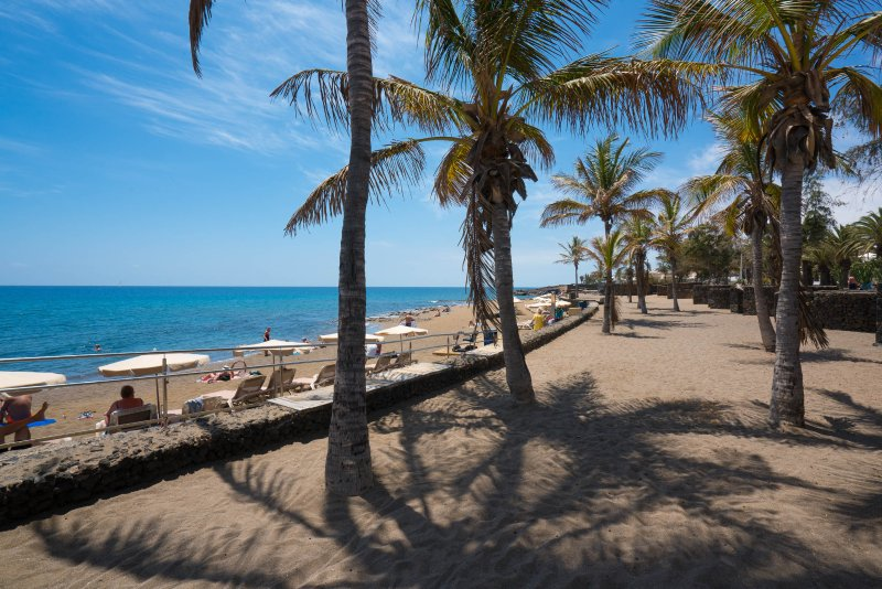Puerto del Carmen Strand, nahe dem Haus