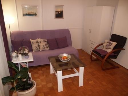Purple (2+1): living room